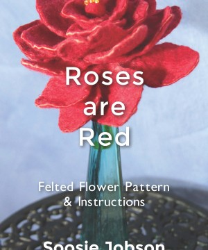 Felted flower pattern & instructions